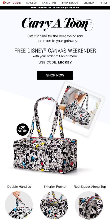 Avon Free Gift Code MICKEY