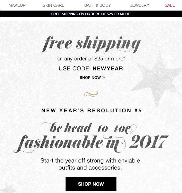 New Years Resolution 5, 2017