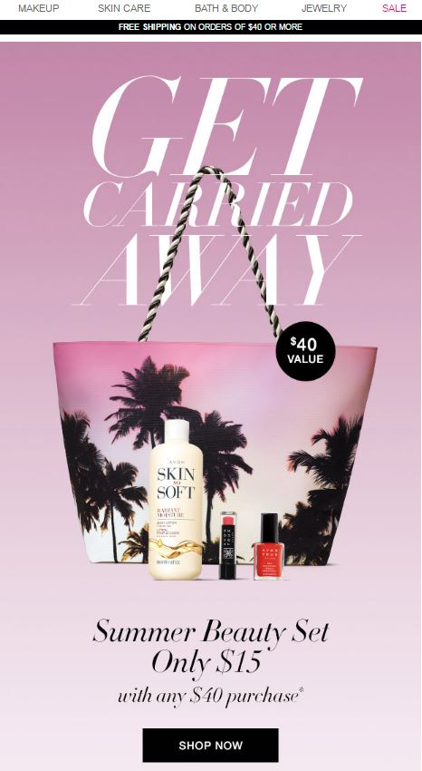 Avon Summer Beauty Set