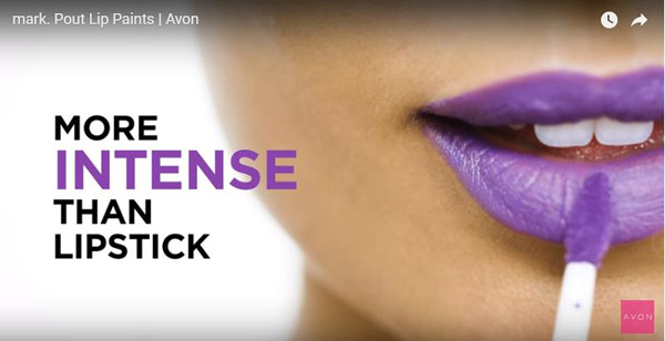 Avon Pout Lip Paint