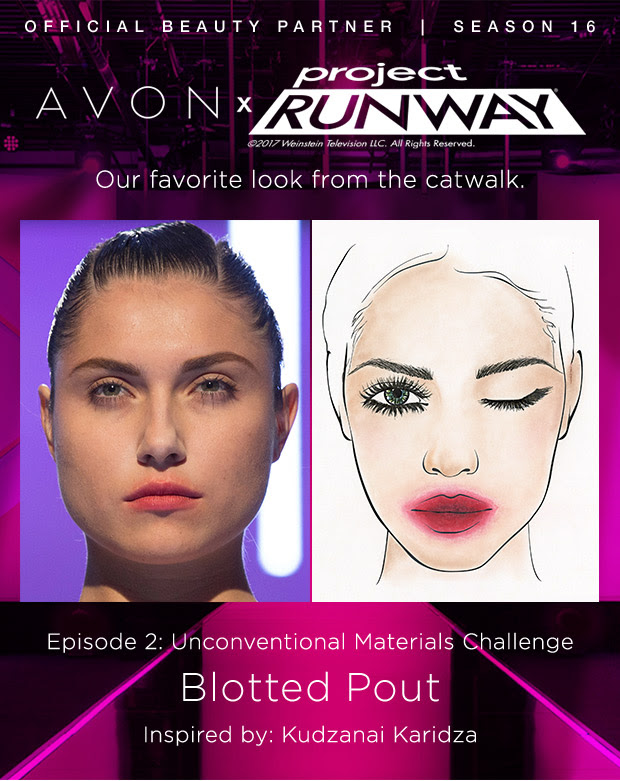 Project Runway Blotted Pout