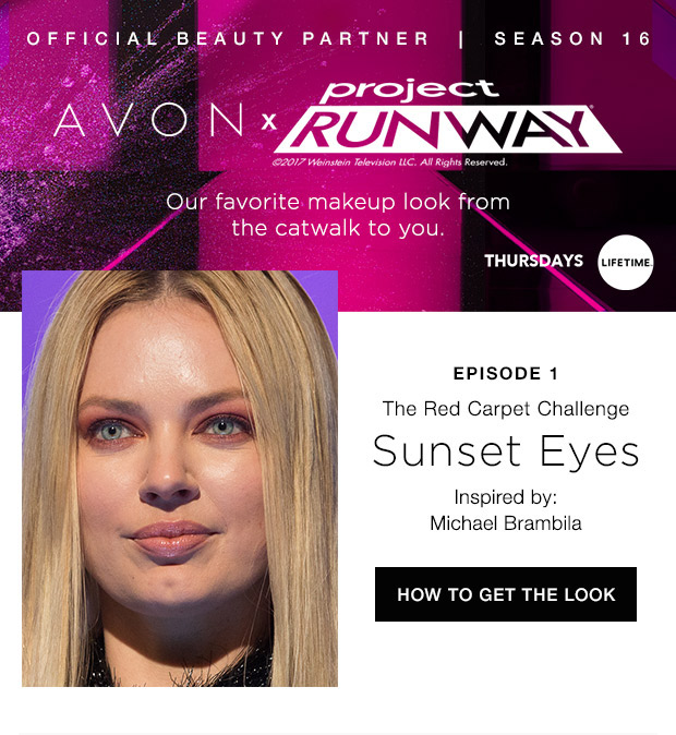 Project Runway Sunset Eyes