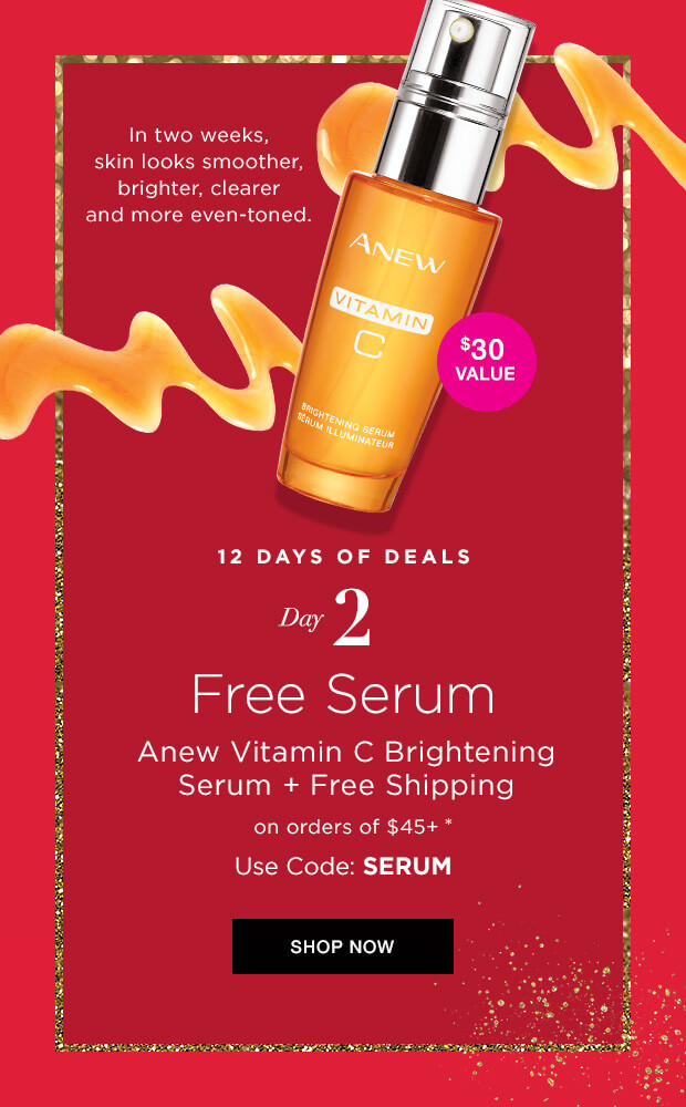 Avon Coupon Code SERUM