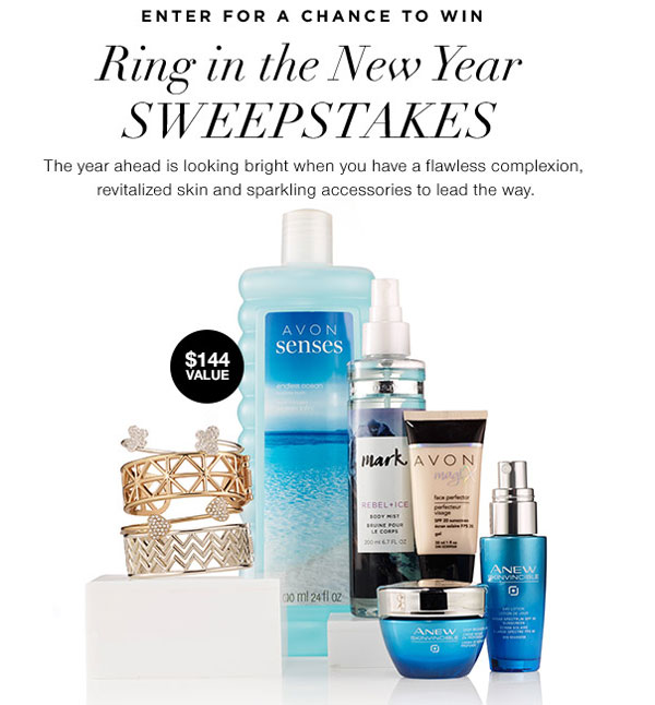 Avon New Years Sweepstakes