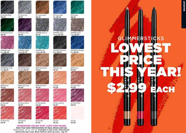 Avon Makeup Campaign 7 Brochure