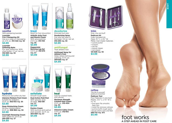Avon Foot Works Sale