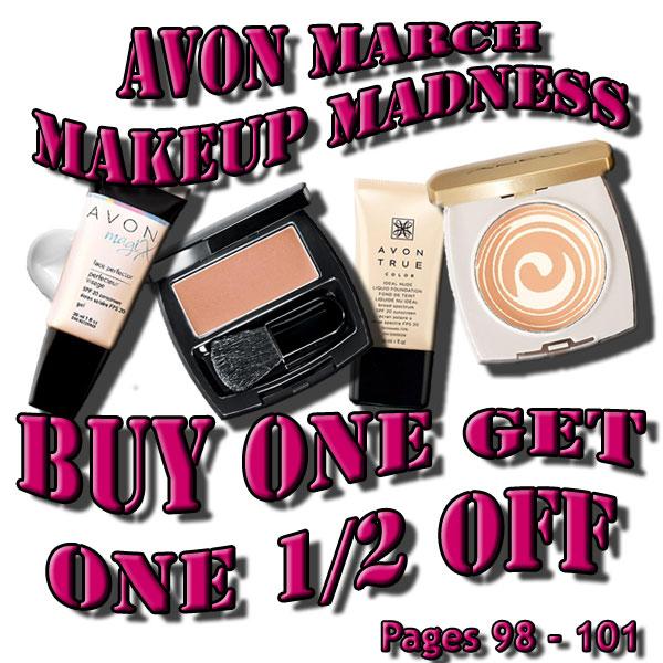 Avon March Makeup Madness