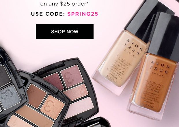Avon Coupon Code SPRING25