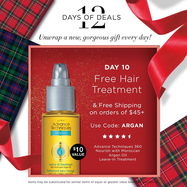 Avon Coupon Code ARGAN