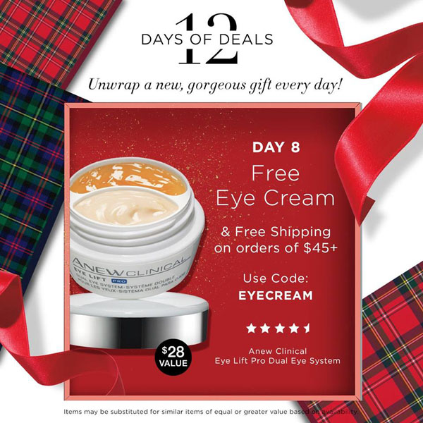 Avon Coupon Code EYECREAM