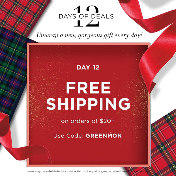 Avon Coupon Code GREENMON