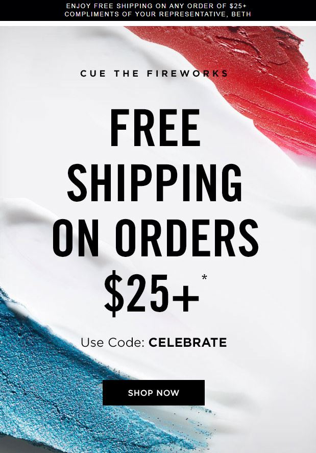 Avon Coupon Code CELEBRATE