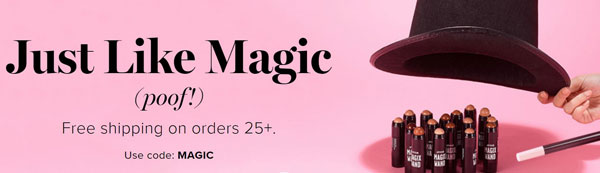 Avon Shipping Code MAGIC