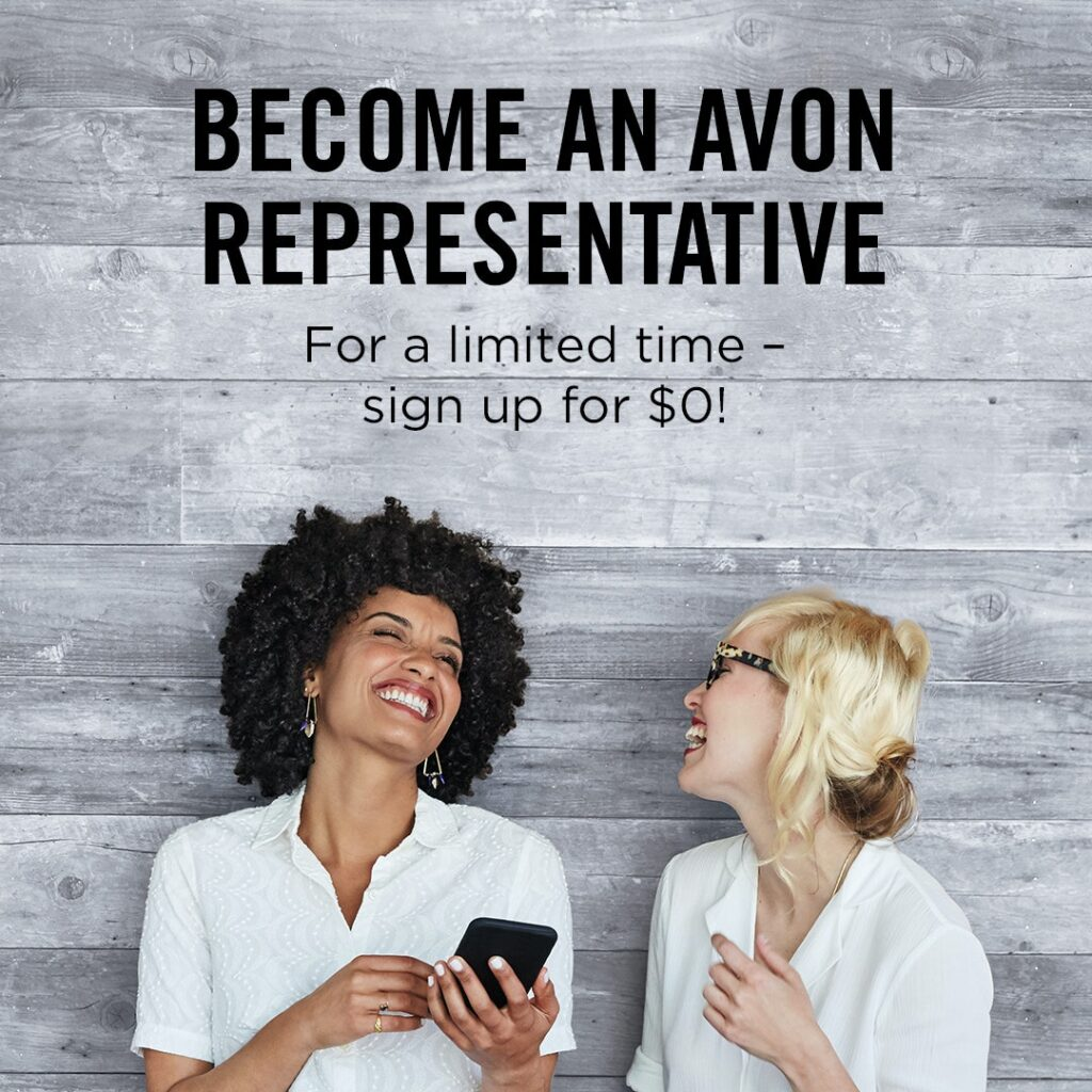 Sell Avon - Sign Up For Free